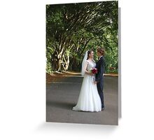 Forest Wedding Photography  Greeting Card