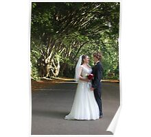 Forest Wedding Photography  Poster