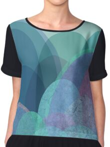 It is not the mountain we conquer but ourselves  Chiffon Top