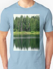 Reflections in the Bull River Unisex T-Shirt