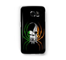 IRELAND SPIDER SKULL FLAG  Samsung Galaxy Case/Skin