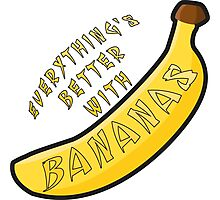 Better With Bananas Photographic Print