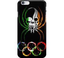 IRELAND SPIDER SKULL FLAG OLYMPICS   iPhone Case/Skin
