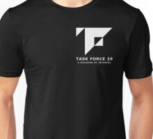Mankind Divided - Task Force 29 (Simple White Logo) Unisex T-Shirt