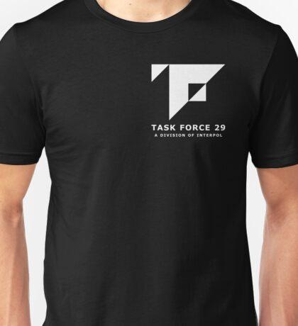 Mankind Divided - Task Force 29 (Simple White Logo) Unisex T-Shirt