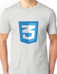 CSS3 logo Unisex T-Shirt