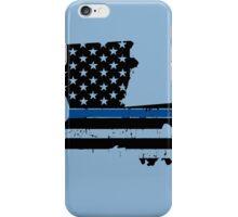 Pray For Baton Rouge Louisiana Blue Line iPhone Case/Skin