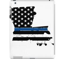 Pray For Baton Rouge Louisiana Blue Line iPad Case/Skin