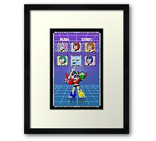 Mega Voltron Framed Print