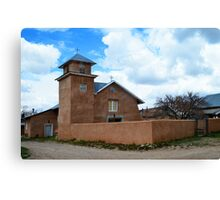 Holy Rosary Church in Truchas, New Mexico Canvas Print