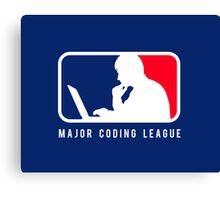 Major Coding League Canvas Print