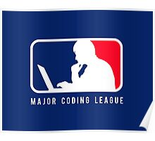 Major Coding League Poster