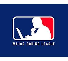 Major Coding League Photographic Print