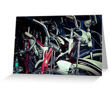 Schwinn Bicycles Greeting Card