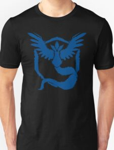 Team Mystic - Grunge Blue Unisex T-Shirt