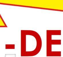 Tri delt- in and out Sticker