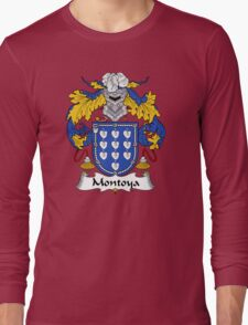 Montoya Coat of Arms/Family Crest Long Sleeve T-Shirt
