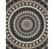 Mandala 125 Photographic Print