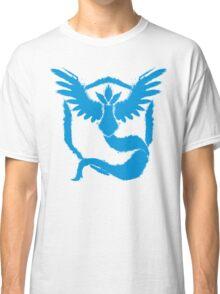 Team Mystic - Grunge Light Blue Classic T-Shirt
