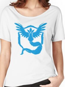 Team Mystic - Grunge Light Blue Women's Relaxed Fit T-Shirt