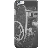 Black Vintage Video Camera iPhone Case/Skin