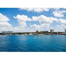 Coast of Cozumel  Photographic Print