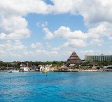 Coast of Cozumel  Sticker