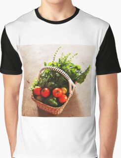 From Michelle's garden . . . a basket of goodies . . . Kilmore East Graphic T-Shirt