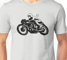 Vintage Motorcycle Racer Unisex T-Shirt