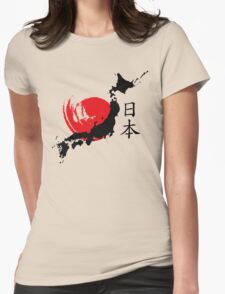 Japan Womens Fitted T-Shirt