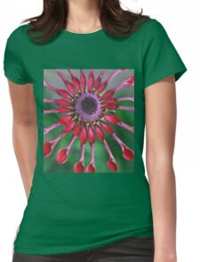 Blaze of red Womens Fitted T-Shirt