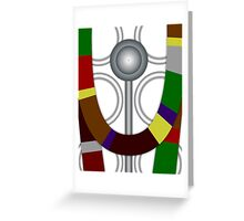 Fourth Doctor Who (Tom Baker) Greeting Card