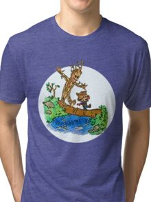 Groot and Rocket Tri-blend T-Shirt