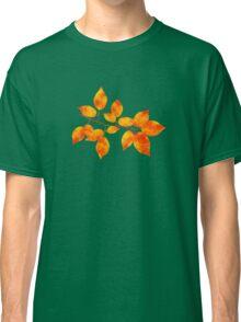 Orange Cherry Leaf Art Classic T-Shirt