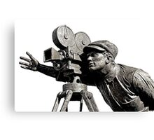 The Film Camera Man Canvas Print