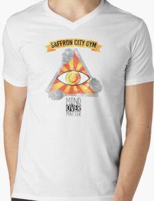 Saffron City Gym Mens V-Neck T-Shirt
