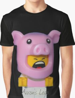 Cute Baby Piggy Graphic T-Shirt