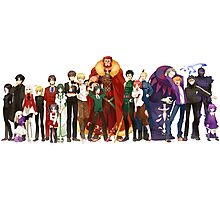 Fate Zero Full Cast  Photographic Print