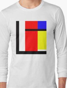 blocky style Long Sleeve T-Shirt