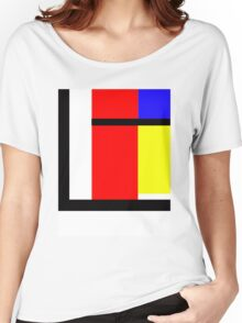 blocky style Women's Relaxed Fit T-Shirt