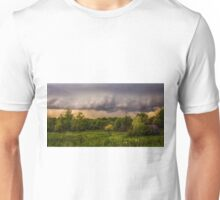 Redreaming Storm In Sempronius New York  Unisex T-Shirt