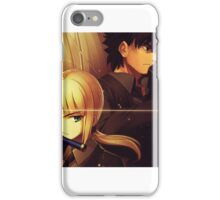 Fate Zero Saber iPhone Case/Skin