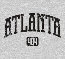Atlanta 404 (Black Print) by smashtransit
