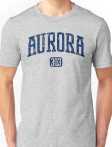 Aurora 303 (Navy Print) Unisex T-Shirt