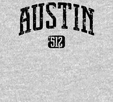 Austin 512 (Black Print) Unisex T-Shirt