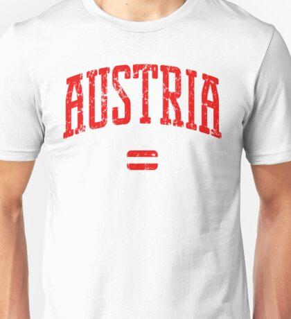 Austria (Red Print) Unisex T-Shirt