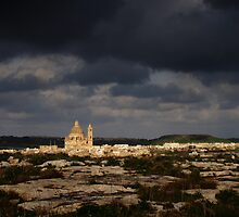 Storm Over Gozo by davidandmandy