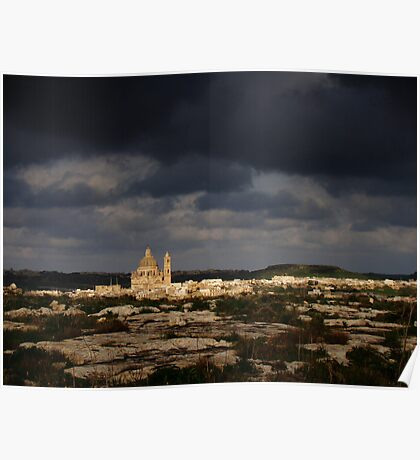 Storm Over Gozo Poster