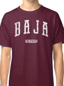 Baja California (White Print) Classic T-Shirt