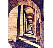 Notre Dame walkway Photographic Print